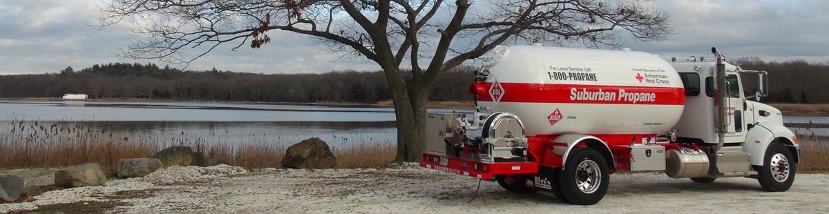 Propane Bobtail Delivery Truck